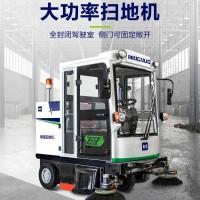厂区车间扫地车企业工厂电动扫地车明诺优势洁地