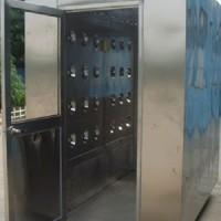 芜湖双人双吹风淋室厂家直销 电子厂不锈钢风淋室