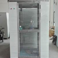 芜湖单人双吹风淋室 冷板不锈钢风淋室厂家