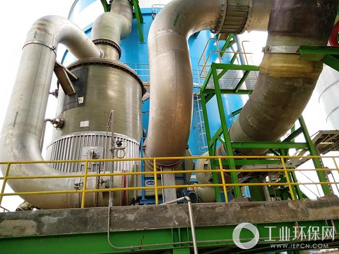 印尼OKI电子厂酸碱废气处理