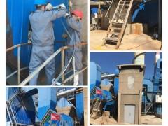 康菲尔检测科技|烟台西部某厂区除尘器出口排放采样圆满完成