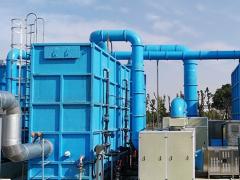 白龙港污水厂污水除臭