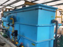 台州某上市电器公司120吨每天高效气浮预处理现场