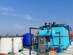 台州 某厂8TH垃圾渗沥液专用气浮运行现场